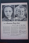 1943 H.J. Heinz Company with 2 Little Girls