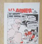 Click to view larger image of 1947 Cream Of Wheat Cereal with Little Abner By Al Capp (Image2)
