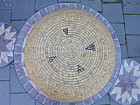 Coiled Basket Tray American Indian 20 inch best guess