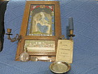 Catholic Thy Holy Name Altar Sick Call Kit Priest Shadowbox Jesus