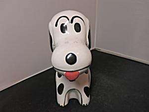 Snoopy Beagle Dog Bank vintage 1980s best guess Porcelain Pottery (Image1)