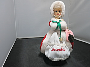 Brinns December Musical Calendar Doll White Christmas