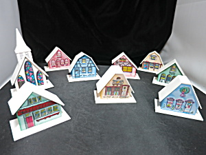 Putz House Alpine Village Plastic Light Covers