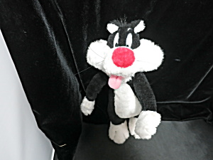 Sylvester The Cat Looney Tunes 1997 Stuffed Plush Toy