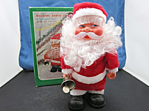 Walking Santa Claus Musical Animated Battery Operated