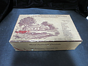 Vintage Old Homestead Specials Cardboard Chocolate Box