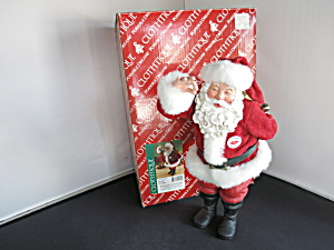 Clothtique Santa Possible Dreams Kiss Me Im Santa