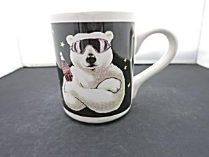 Coca Cola Polar Bear Cup Mug Gibson 1999 (Image1)