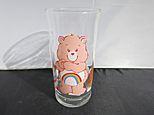 Cheer Bear Care Bear Glass Tumbler Pizza Hut