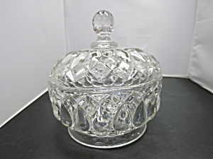 Lead Crystal Candy Dish