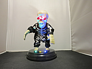 Gemmy Battery Operated Skeleton Sings Dances Eyes Light