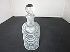 T. C. W. Co. 1 Usa Apothecary Bottle Blown Ground Glass