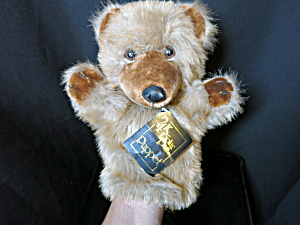 24 Karat Luxury Pet Bear By Special Effects 10 Inch.