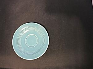 Vintage Harlequin Turquoise Saucer Homer Laughlin (Image1)