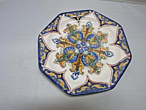 I Godinger & Co plate 7 1/2 inch Tuscany Madallion type pattern (Image1)