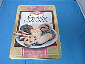Pepperidge Farm Specialty Collection Cookie Tin