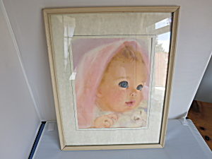 Baby Hook Print Northern Mills Tissue Advertising (Image1)