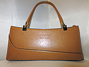 Gucci Handbag Satchel Vintage Made In Italy 1980s