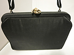 Vintage H L Usa Harry Levine Black Purse Change Purse