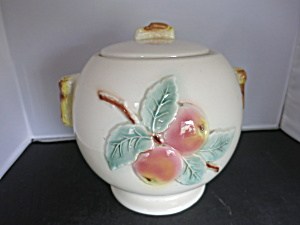 Vintage Roseville Apple Cookie Jar Circa 1940s To 1950s