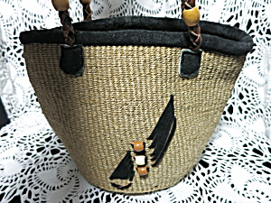 Weaved Handbag Shoulder Bag Native American Beach
