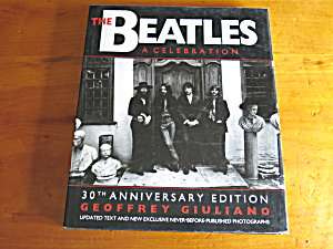 The Beatles A Celebration 30th Anniversary Hc Book