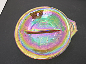 Indiana Glass Marigold Carnival Divided Dish