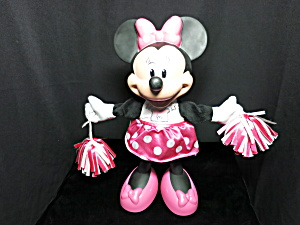 Minnie Mouse Talking Cheer Leader Doll Disney Mattel
