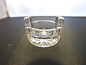 Tub Shape Crystal Open Salt Cellar Dip