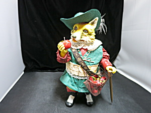 Clothtique Possible Dreams Fox Musketeer Hat Apples (Image1)