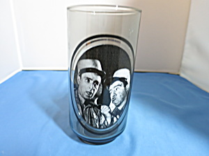 Abbott And Costello Take 2 Of 6 Arbys Glass Tumbler