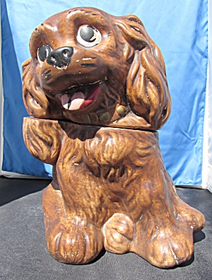 California Originals Cocker Spaniel Dog Cookie Jar