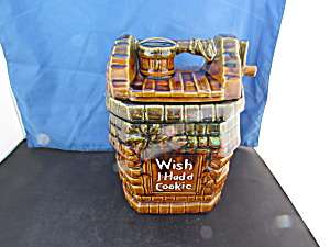 Mccoy Usa Wishing Well Cookie Jar Wish I Had A Cookie