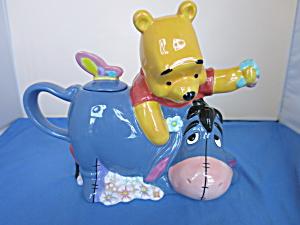 Disney Winnie the Pooh & Eeyore Teapot Disney Store (Image1)