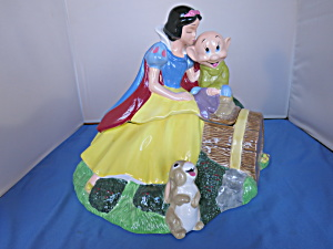 Disney Treasure Craft Snow White Dopey Cookie Jar
