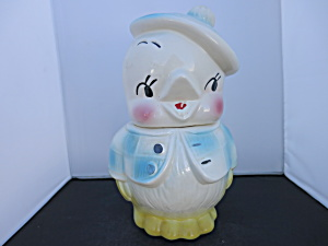 American Bisque Chick Usa Cookie Jar 1959