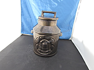 Mccoy Bronze Luster Milk Can Cookie Jar Spirit Of 76