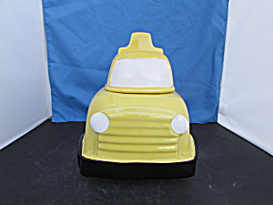 School Bus Cookie Jar Nelson Mccoy 352 Usa