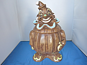 Deforest Of California Clown Cookie Jar 1957