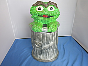 Oscar The Grouch Sesame Street Cookie Jar 972 Muppets