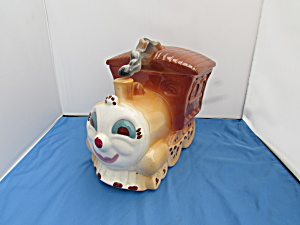 Sierra Vista Train Cookie Jar Circa 1950s