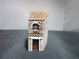 Dominique Gault Paris Building Miniature Hand Painted