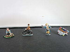 J. Carlton Metal Figurines Dominique Jean Pierre Lobel