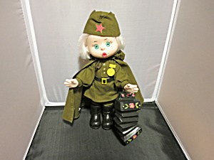 Mockobcrat Russsian Russia Military Doll 12 inch (Image1)