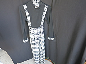 Vintage Rae Dolls San Francisco Long Dress