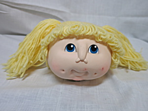 Vintage Doll Baby Blonde Head By Martha Nelson Thomas