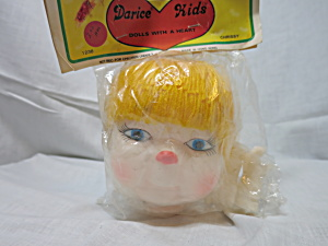 Vintage Darcie Kids Chrissy Doll Head Hands Crafting (Image1)