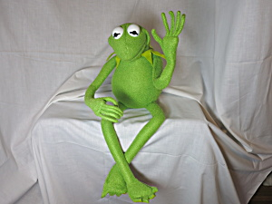 Master Replicas Kermit The Frog Poser Puppet Muppets