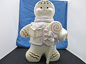 Lennox The Gingerbread Cookie Jar 2002