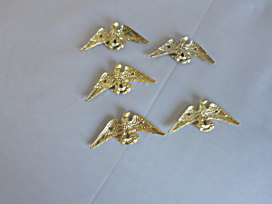 Vintage Eagle Hardware Decorative Embellishment Marked Japan 5pc